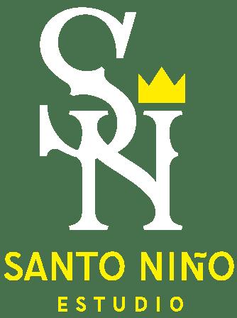 Logo Santo Niño Estudio de Diseño