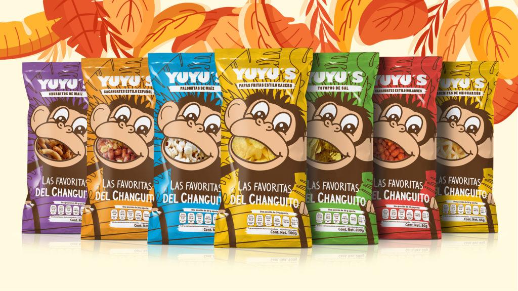 Packaging Yuyu's